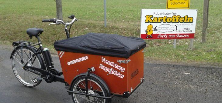 Lastenrad mit Elektroantrieb